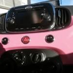 Peinture personalisée intérieure Fiat 500